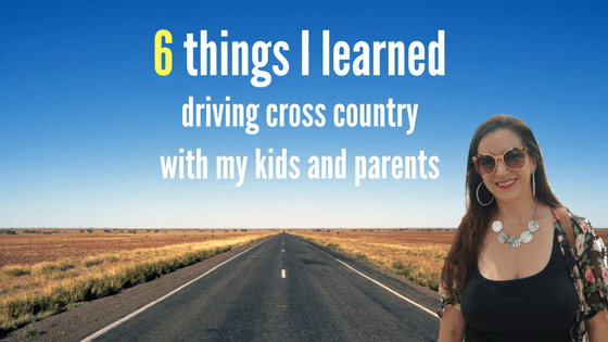 6 things i learned driving cross country with kids and my parents