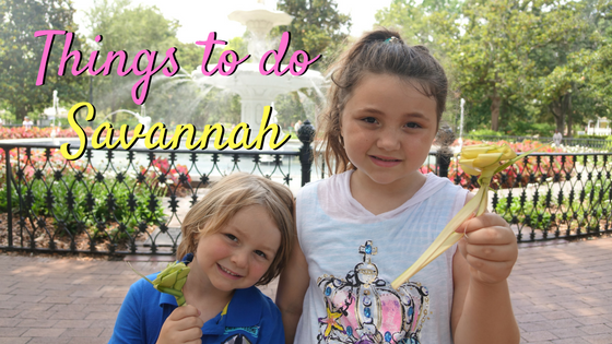 Things to do in Savannah GA with Kids