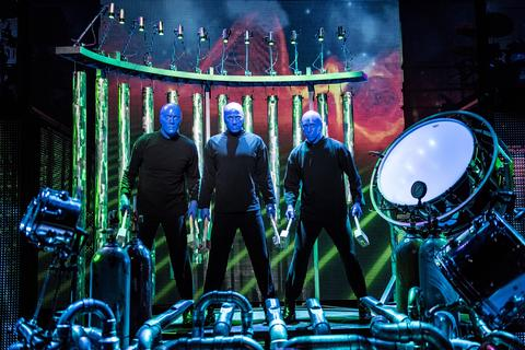 Las Vegas Show for Families Blue Man Group Luxor