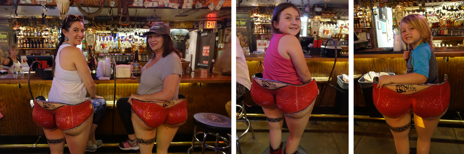 Family with Kids at Rusty Spur Saloon