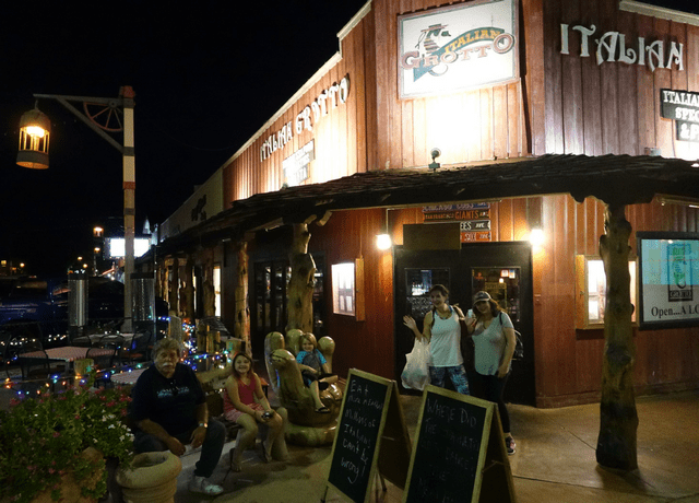 Old Towne Scottsdale Italian Grotto with Kids