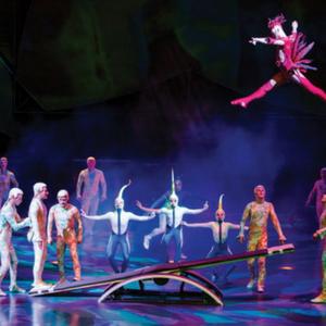 Vegas Family Show Mystere Cirque du Soleil