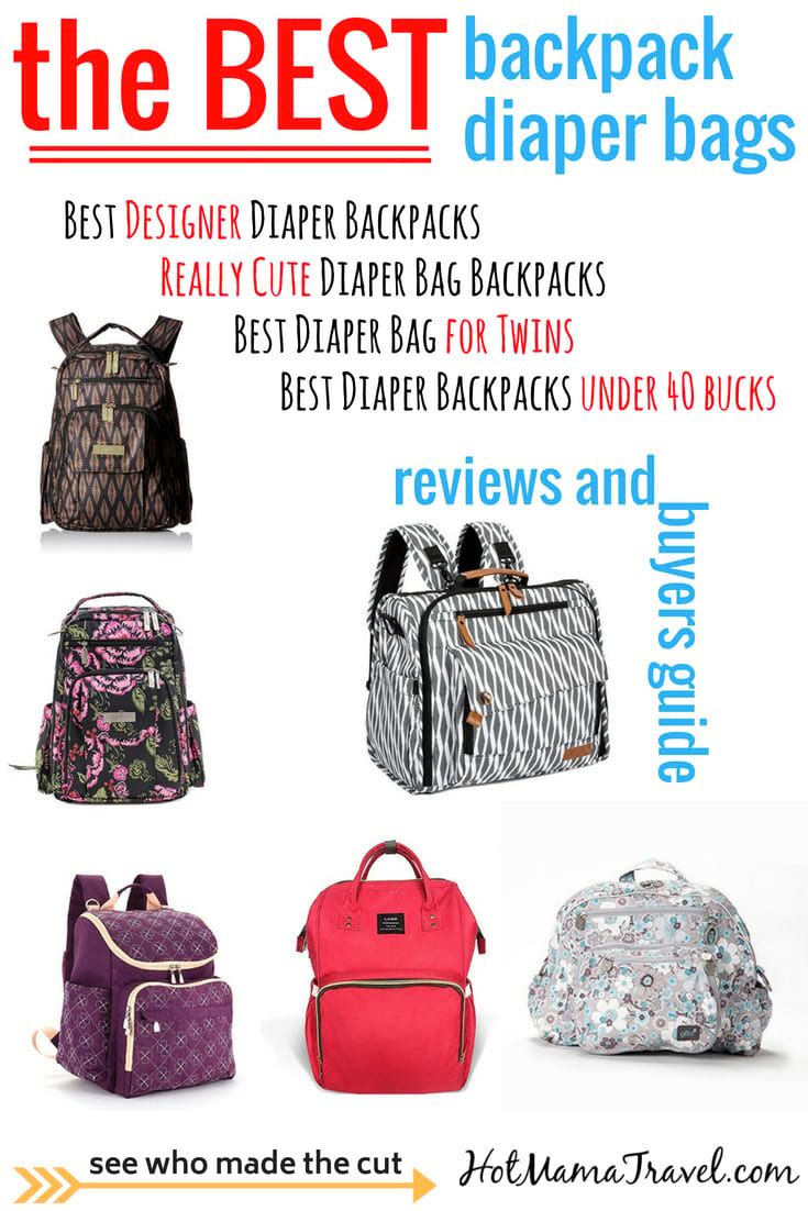 12 Best Backpack Diaper Bags To Make Baby Travel So Much Easier