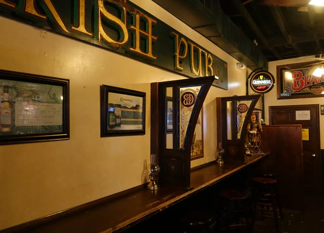 Inside Galway Bay Irish Pub Annapolis MD