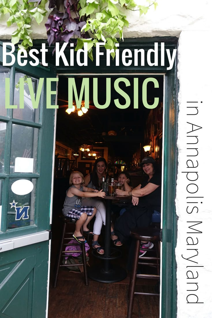 Best Kid friendly restaurants with live music Annapolis