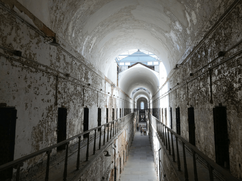 Eastern State Penitentiary Haunted Cell Block