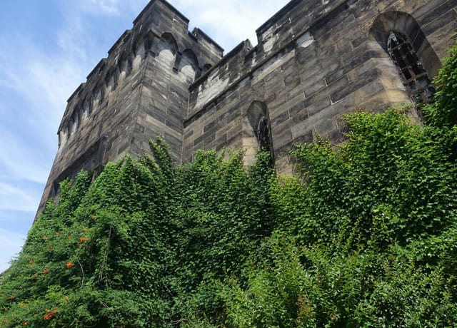 Eastern State Penitentiary from Street view