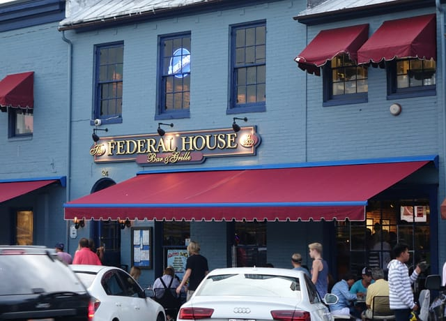Federal House Restaurant Annapolis Maryland