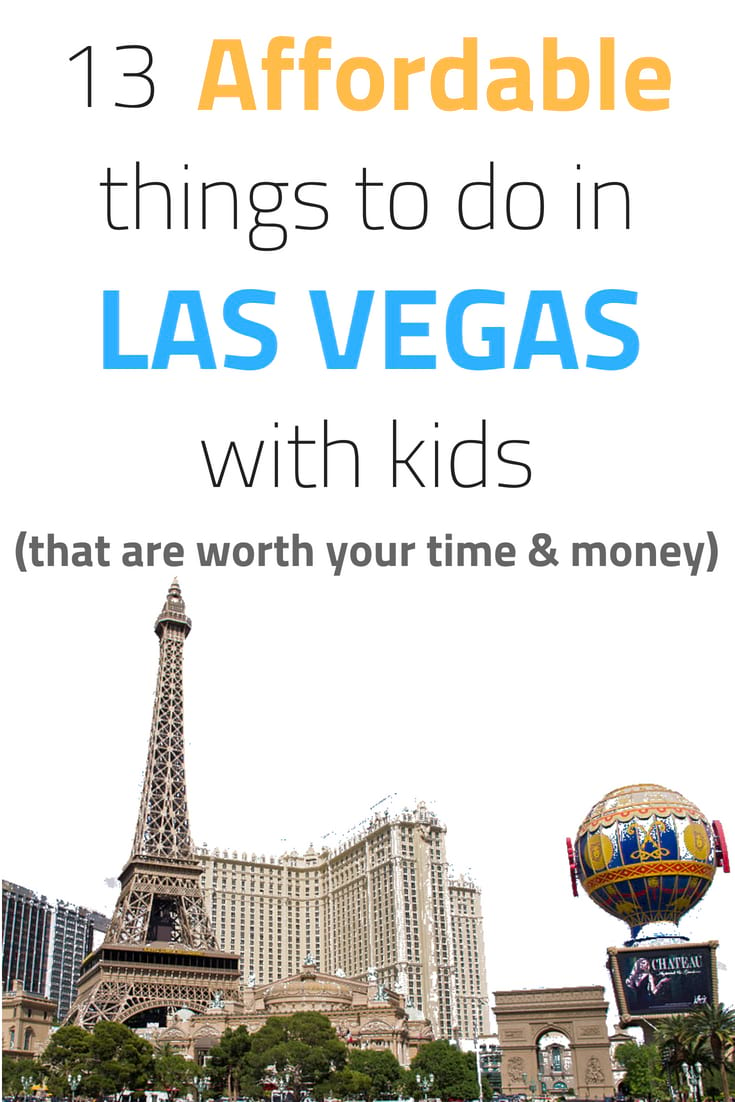 List of Affordable family things to do in Vegas