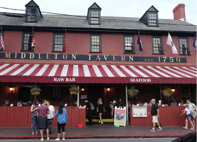 Middleton Tavern Annapolis Maryland