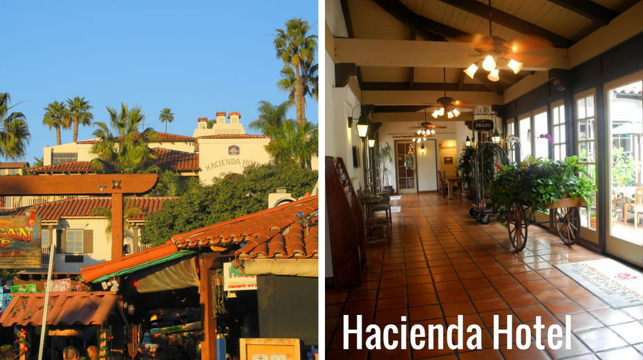 Hacienda Hotel in Old Town San Diego