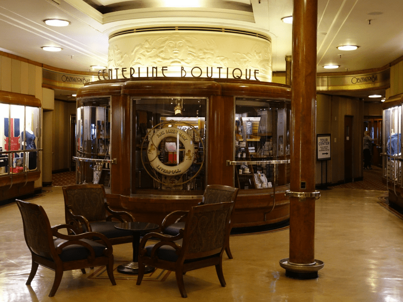 Inside Queen Mary Boutique