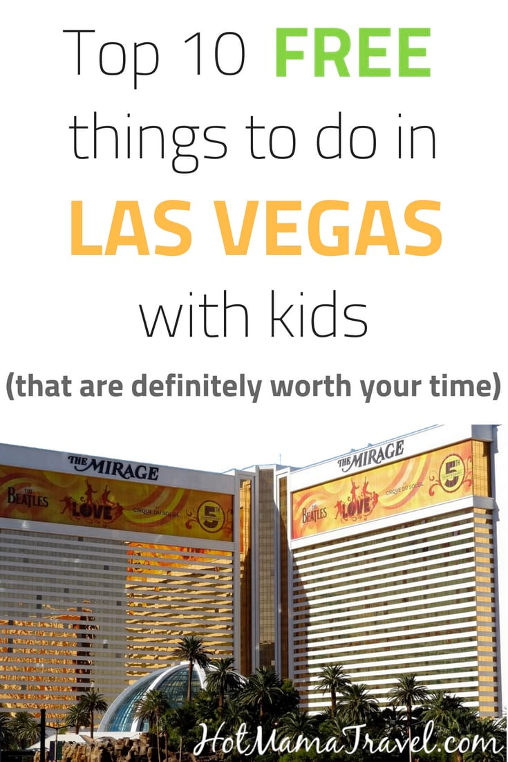 Best Free Family Activities in Vegas