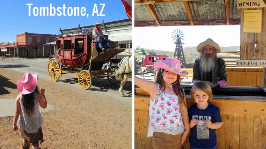 Kids in Tombstone AZ
