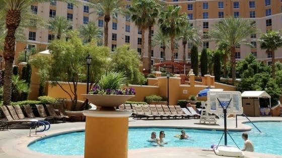 Wyndham Grand Desert Pool area