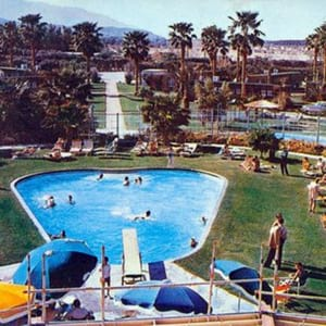 Desert Air Hotel in Rancho Mirage circa 1950s