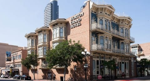 Haunted San Diego Horton Grand Hotel