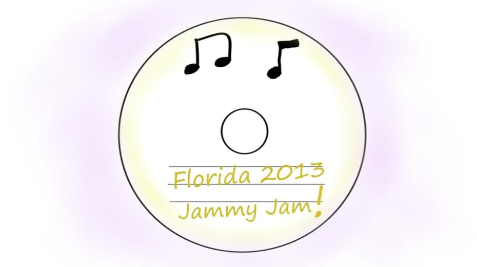 Jammy Jam CD for road trip