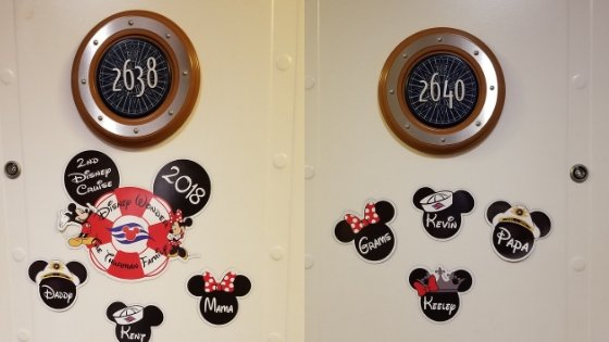 Door Magnets for Disney Cruise from Etsy