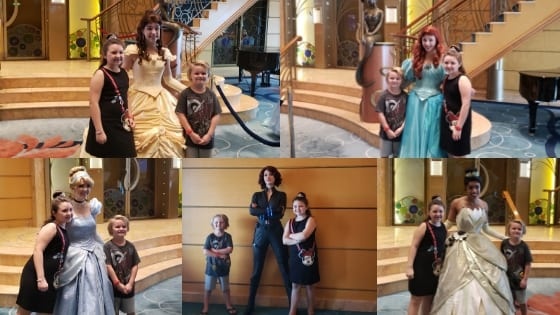 Disney Cruise Character meet and greets