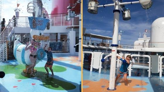 Aqua Lab on Disney Wonder