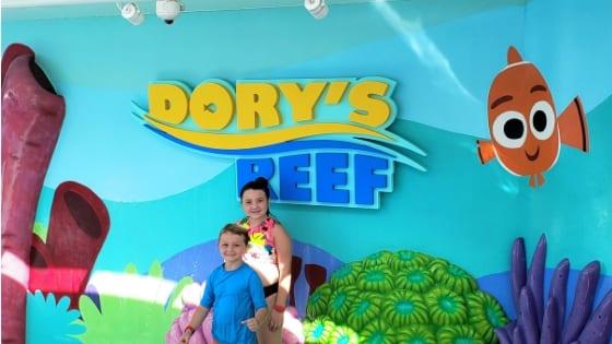 Dory's Reef on Disney Wonder Cruise