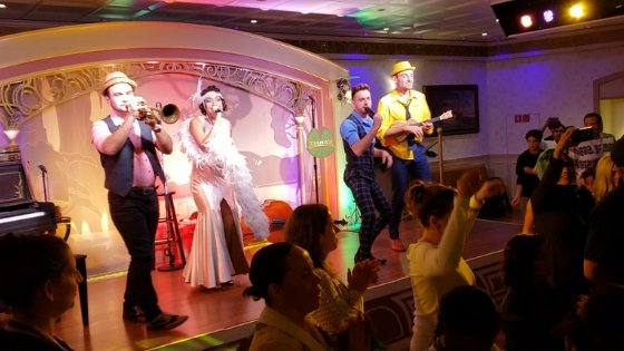 Tiana's Place on Disney Wonder