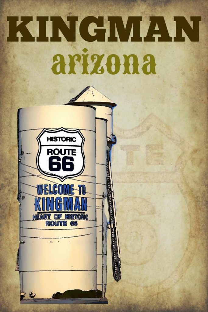 Kingman AZ on Route 66