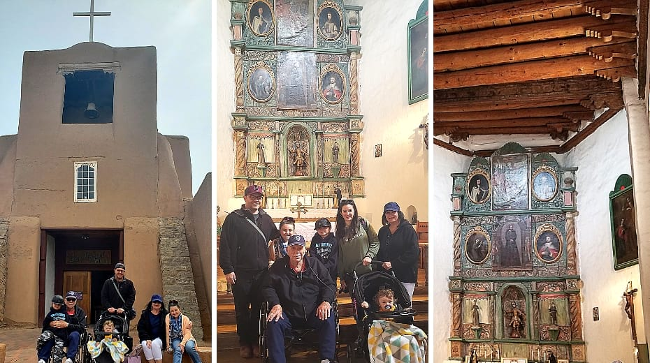 Family friendly Santa Fe New Mexico San Miguel Church