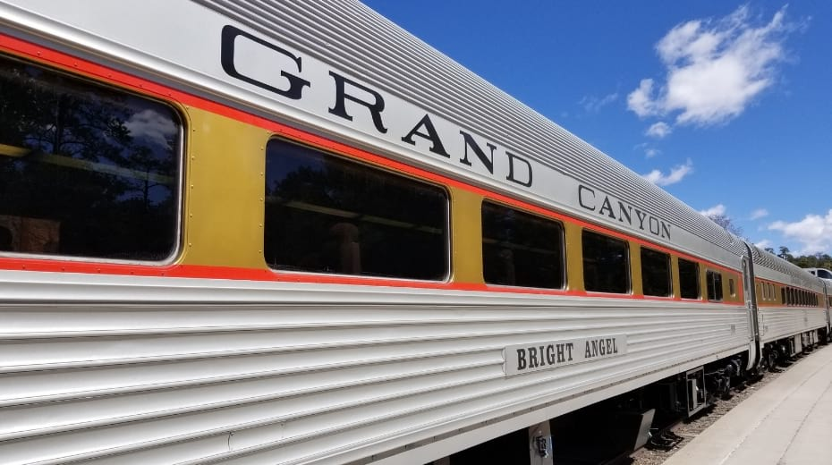 Grand Canyon Railway Train cars