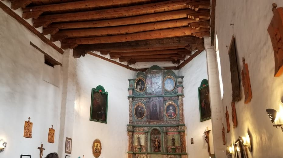 San Miguel Historic Church in New Mexico