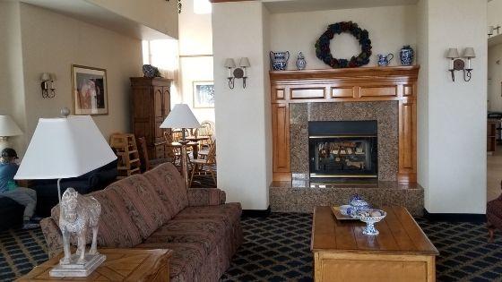 Lobby of Best Western Plus Kingman A Wayfarer's Inn