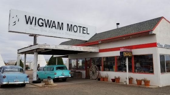 Wigwam Motel Route 66 Classic stop
