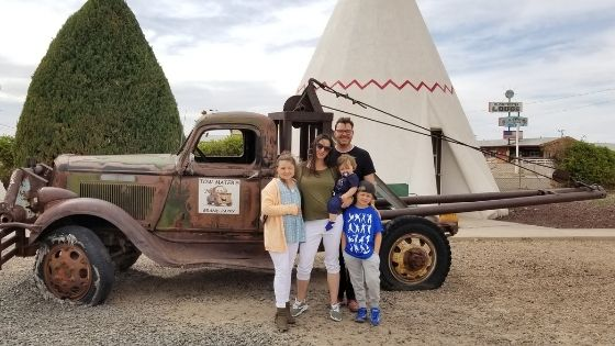 Tow Mater Route 66 Wigwam Motel Holbrook