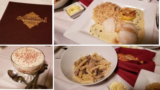 Food at Mattina's Ristorante Kingman