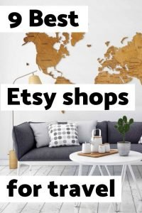 9 Must-see Etsy shops for people that love to travel