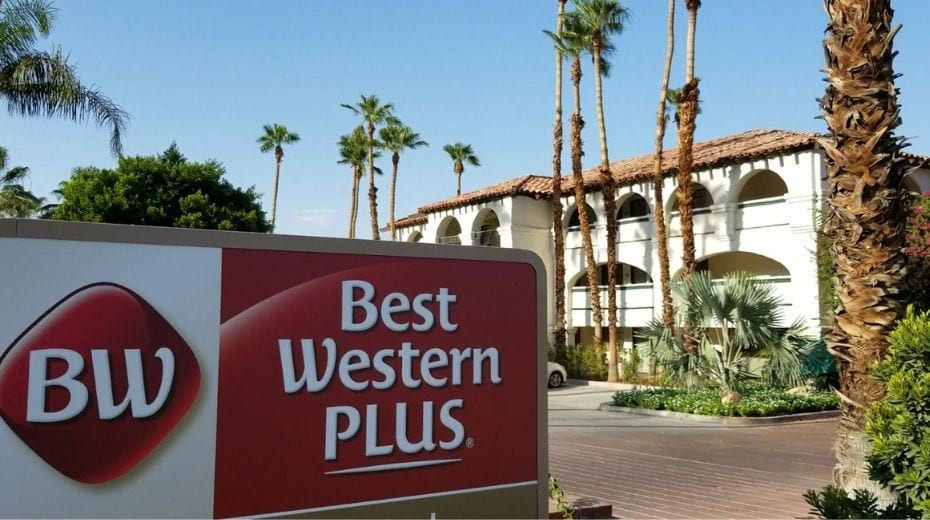 Exterior of Best Western Plus Las Brisas