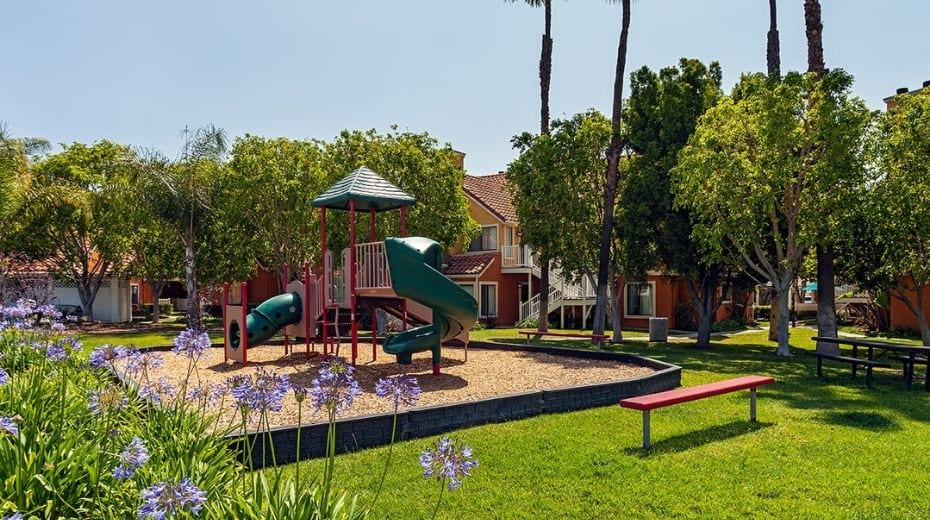 Kids playground at Clementine Hotel & Suites in Anaheim