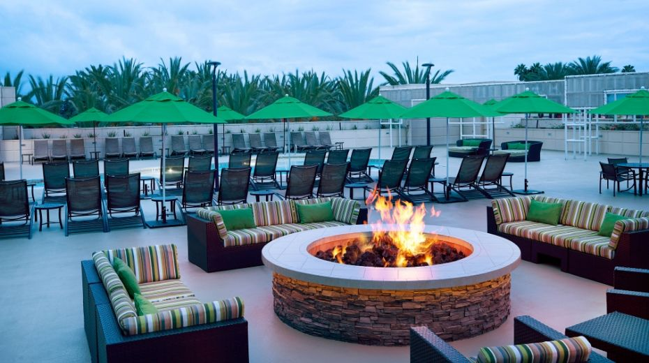 Outdoor Firepit at Hyatt Regency OC
