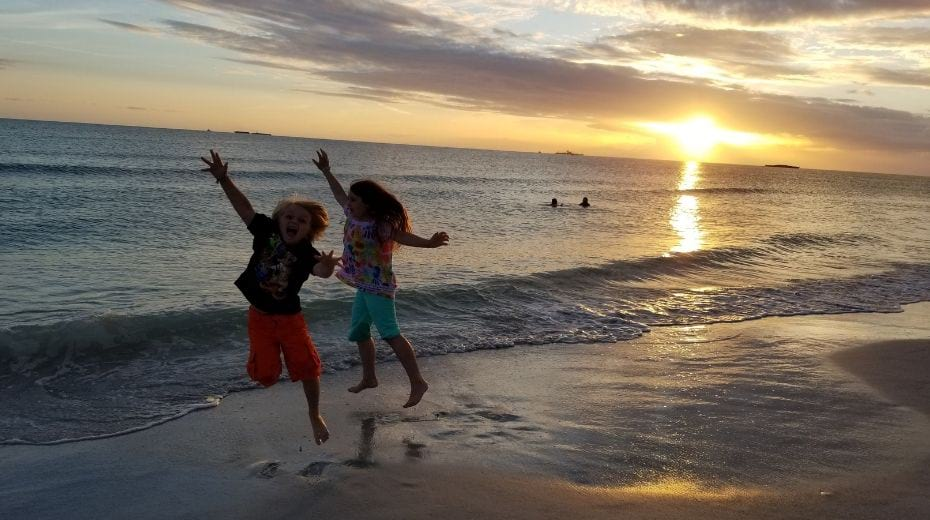 St Pete Beach with kids