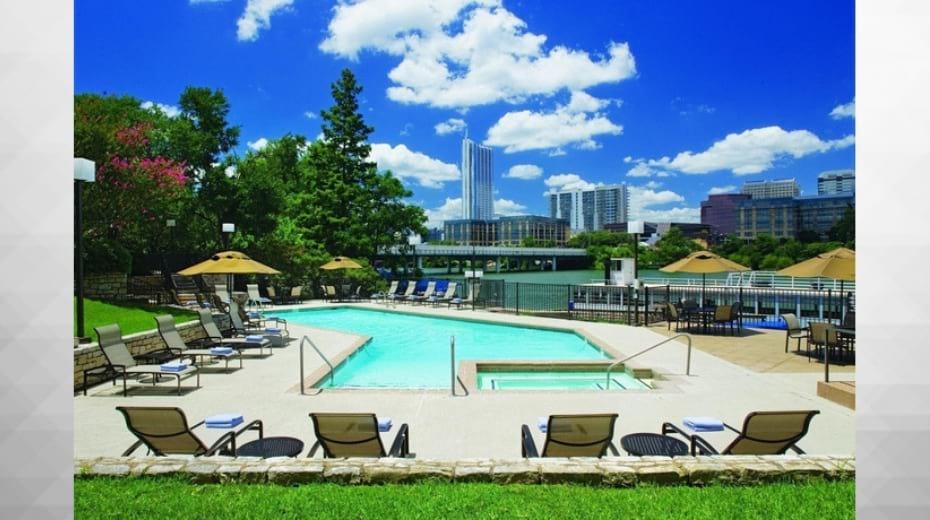 Pool at the Hyatt Regency Austin