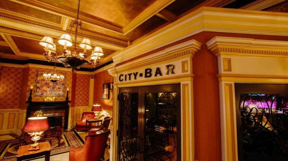 City Bar in Lenox Hotel Boston