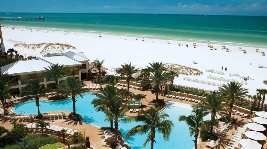 Sandpearl Family Resort in Clearwater