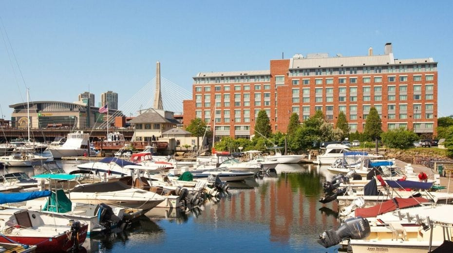Residence Inn on the Harbor in Tudor Wharf Boston