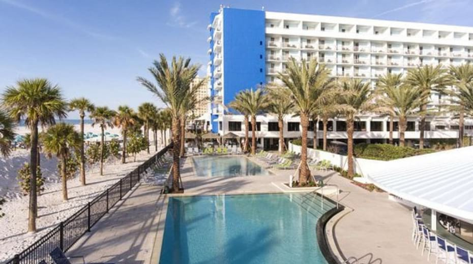 Hilton Clearwater kid-friendly hotel