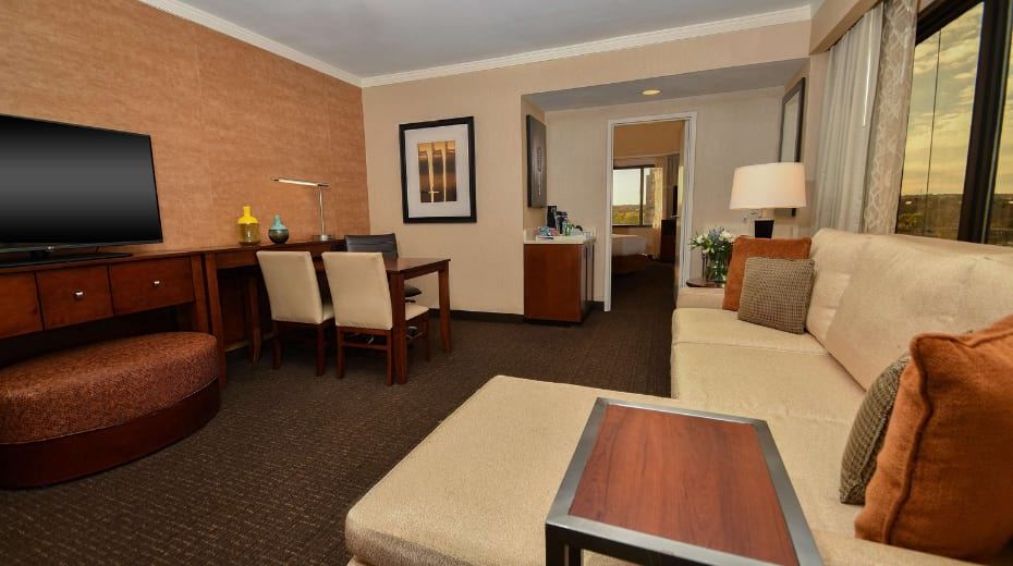 Family suite in Austin at Embassy Suites