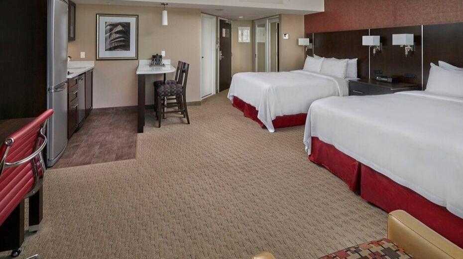 Room inside Residence Inn Vancouver
