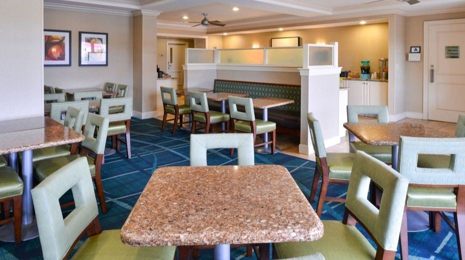Kid-friendly Charleston Hotel Springhill Suites Downtown