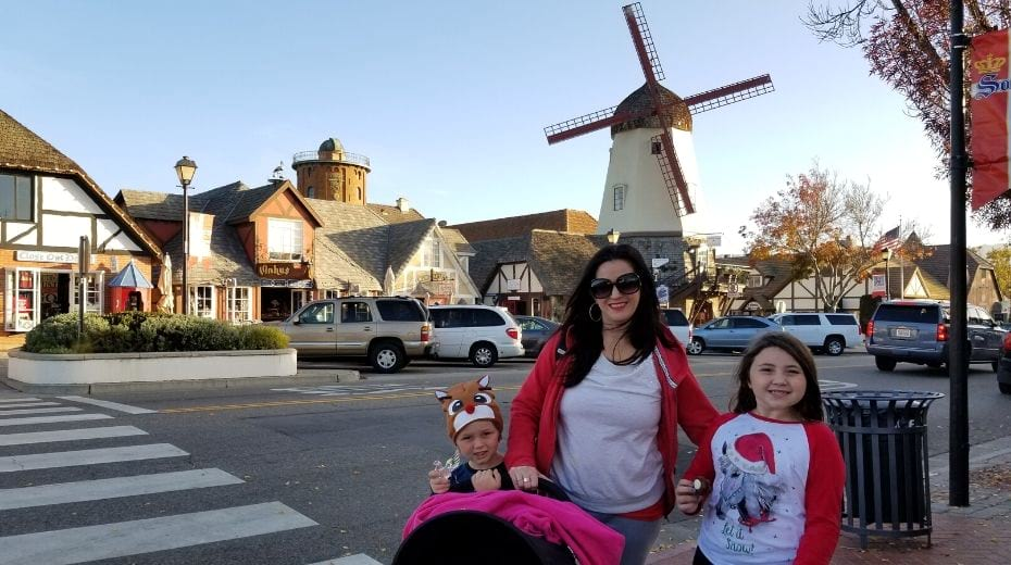 Family in Solvang CA