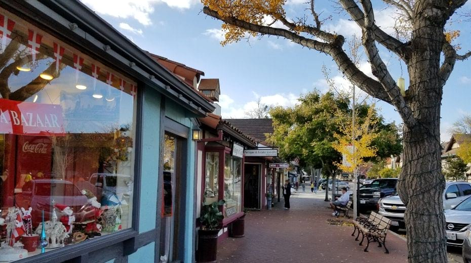 Shopping in Solvang